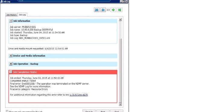 Backup CIFS Shares in VNXe 3150 - VOX