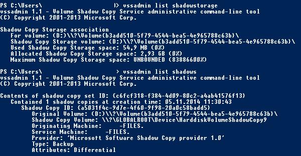 VMWare VM backup destroys shadow copy of a file ba    - VOX