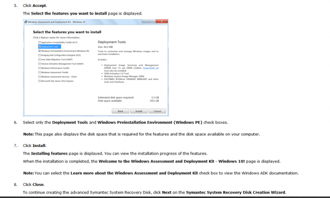 Download and install Windows Assessment and Deployment Kit (ADK) - page 3.png