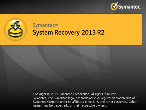 Symantec System Recovery Spalsh Screen.png