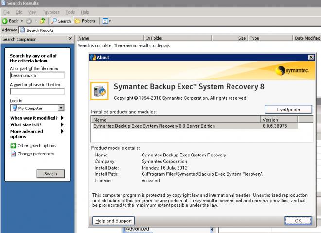 symantec license file slf
