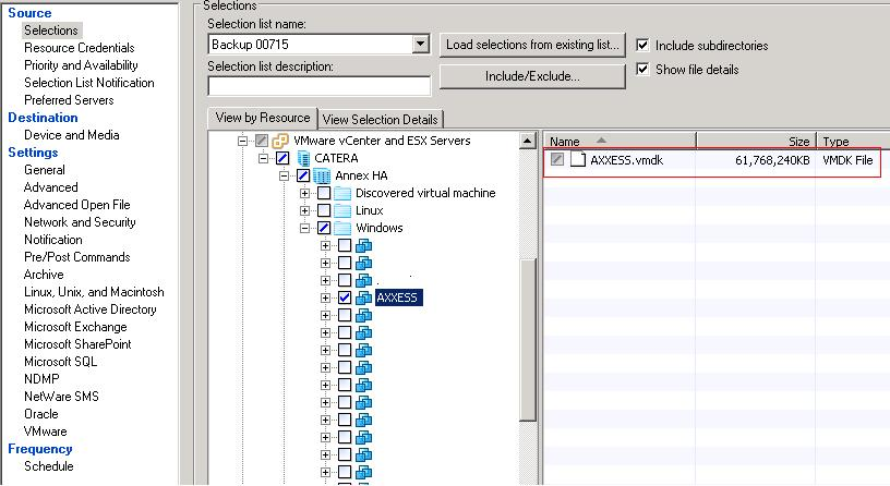 Solved: step by step process on backing up vmdk files - VOX