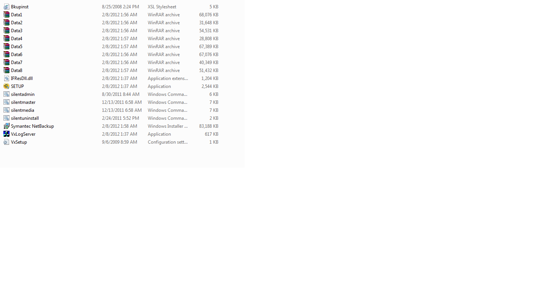 Solved: ERROR: Error 1335.The cabinet file 'Data1.cab' req... - VOX