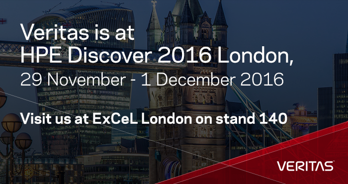 Veritas is at HPE Discover 2016