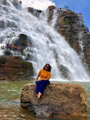 Anuradha enjoying her free time