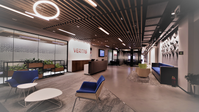 Reception at the new Veritas Global Centre of Excellence in Balewadi, Pune, India