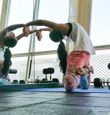 Yoga is good for your body and mind