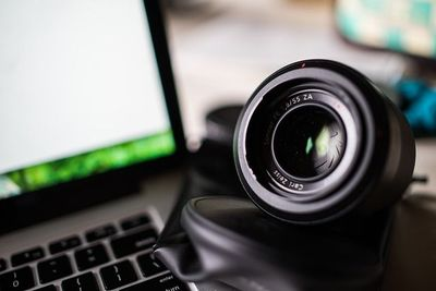How much do value your privacy? [A computer with a camera]