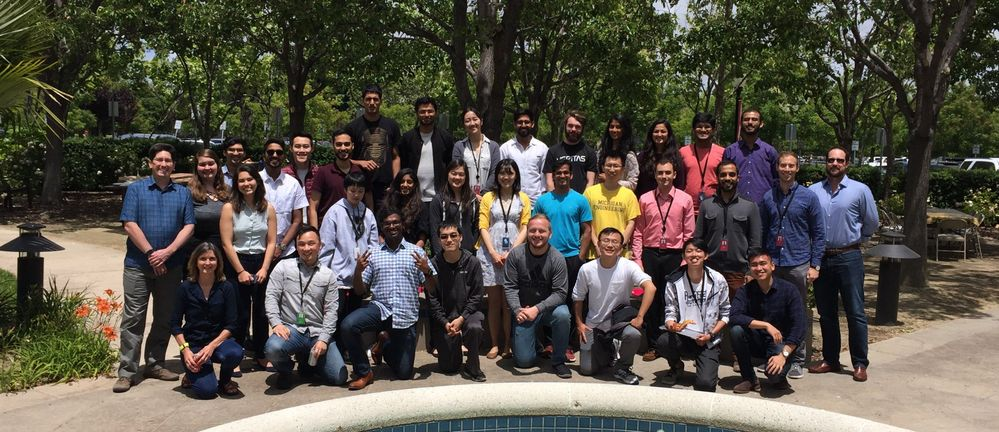 The Summer 2018 intern class of Veritas University at our Mountain View headquarters.