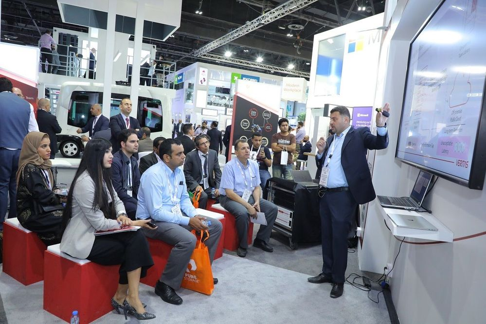 Yamen Alahmad presents how to modernize your data protection.