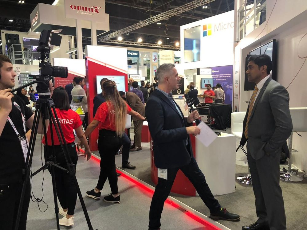 GITEX Live popped by Veritas' stand today and interviewed Mansoor Ibrahim.