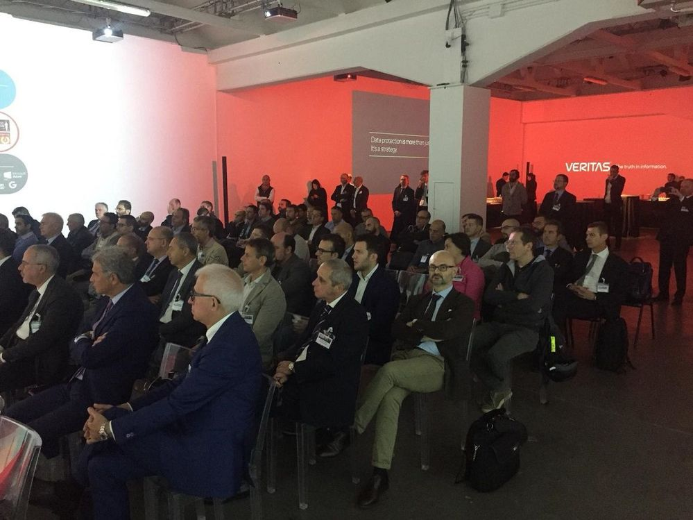 It is a packed house at VSD Milan!