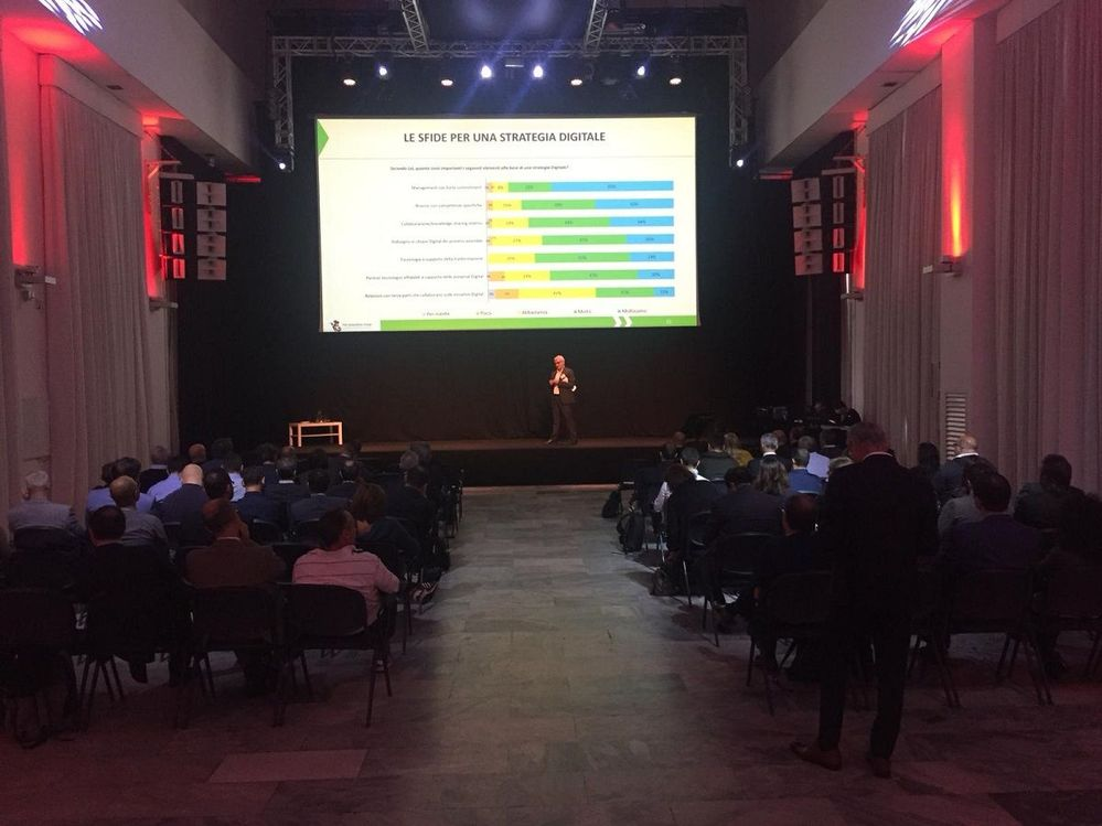 Ezio Viola, Managing Director, The Innovation Group presented a great presentation on digital transformation and how to utilise your business data.