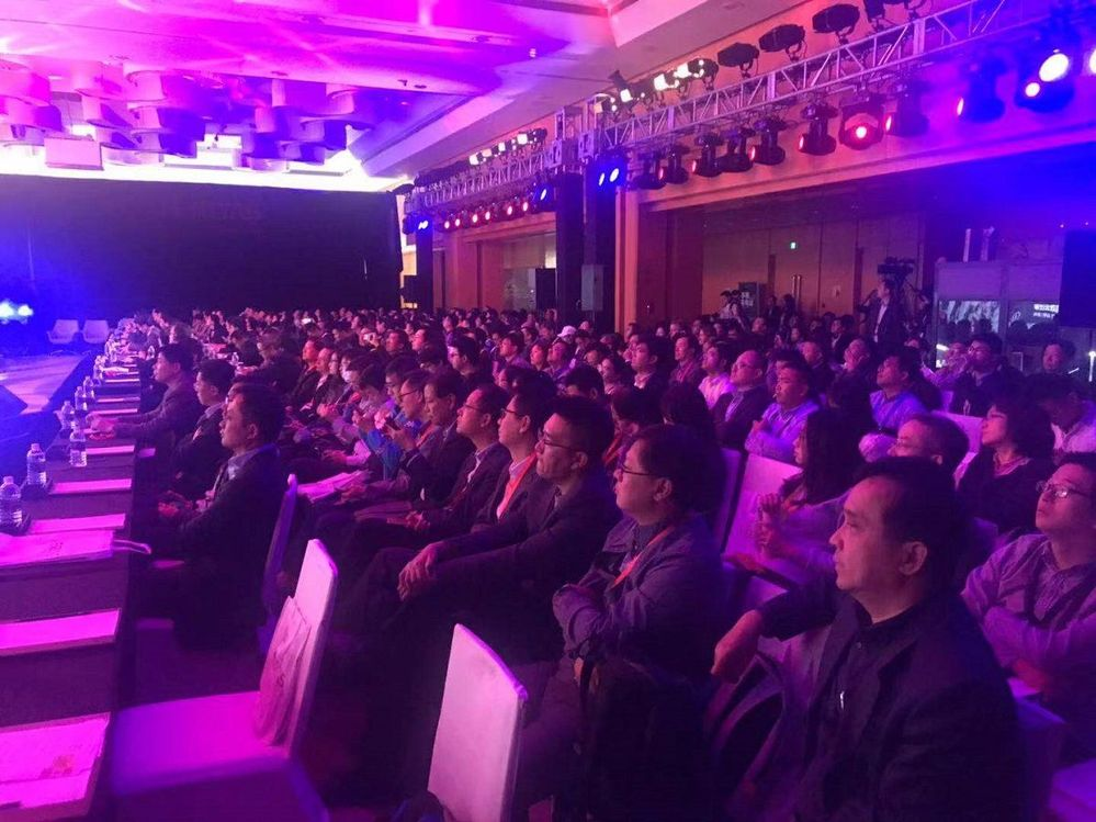 A packed house for VSD Shanghai! There was over 450 people in attendance with hundreds of people watching the event online live.