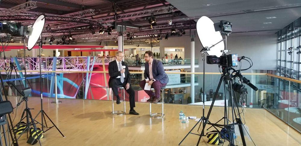 Harald Derbsch's interview.