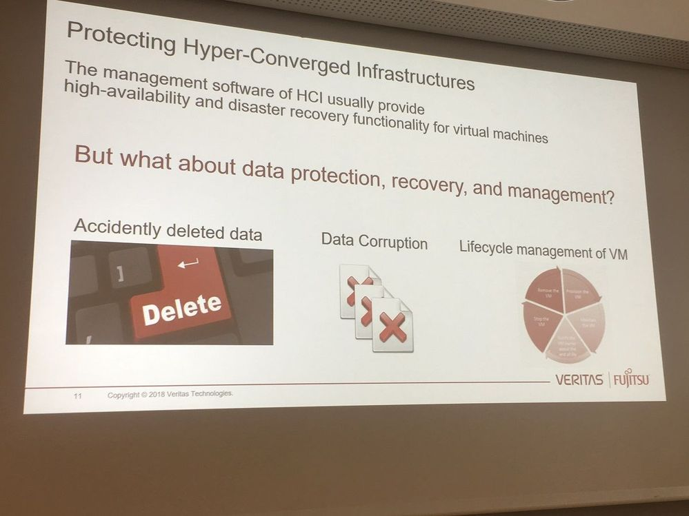 It is important to protect hyper-converged infrastructures.
