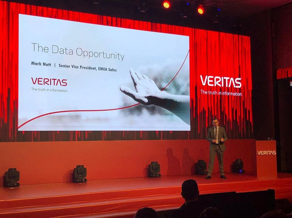"Mark Nutt, SVP EMEA keynoted at VSD Istanbul and advised attendees ""use data to disrupt others, don't let it disrupt you."" Great advice from Mark!"