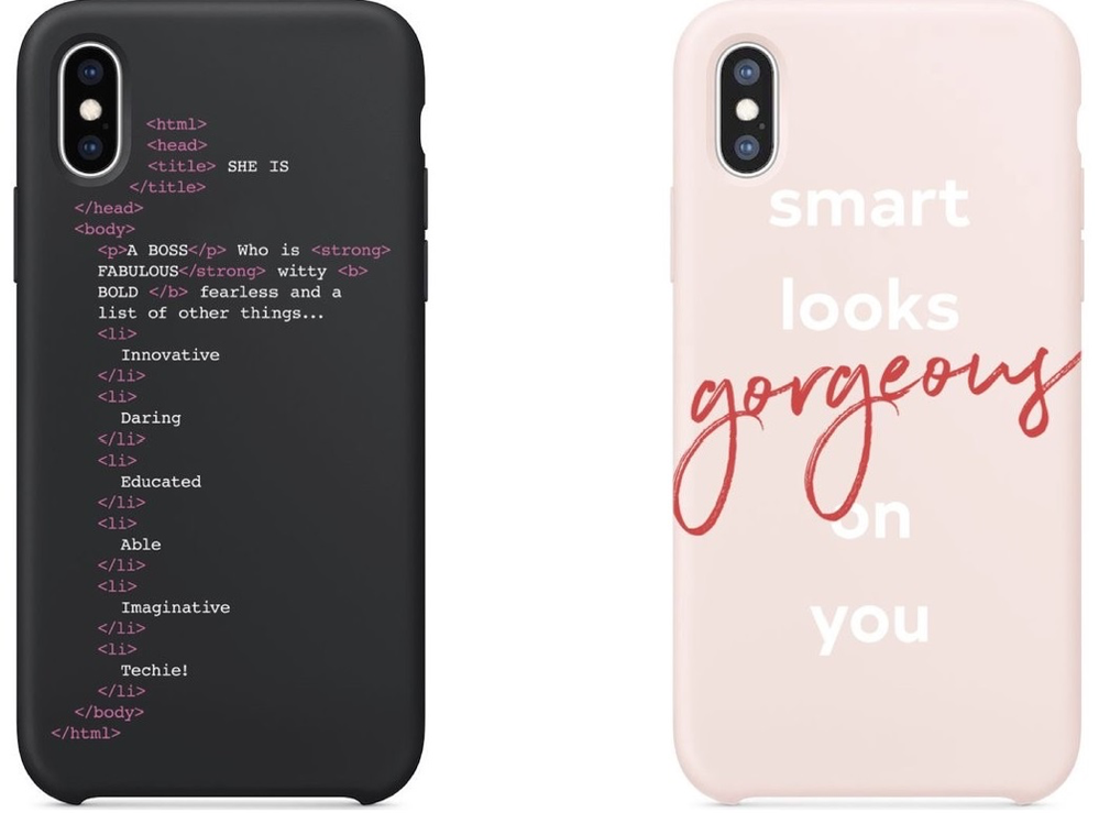 The iPhone cases designed and developed by Melanie and her hackathon team are now available for purchase via Verizon.