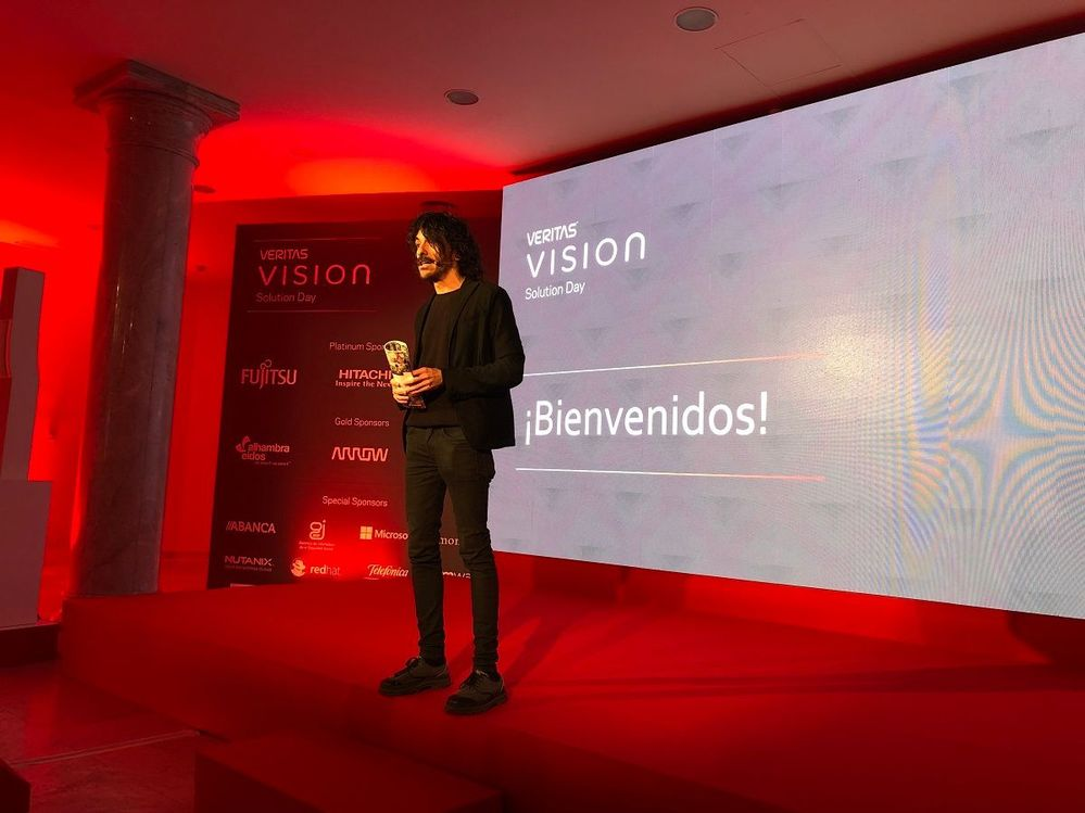 Welcome to #VtasVision Madrid, Spain!