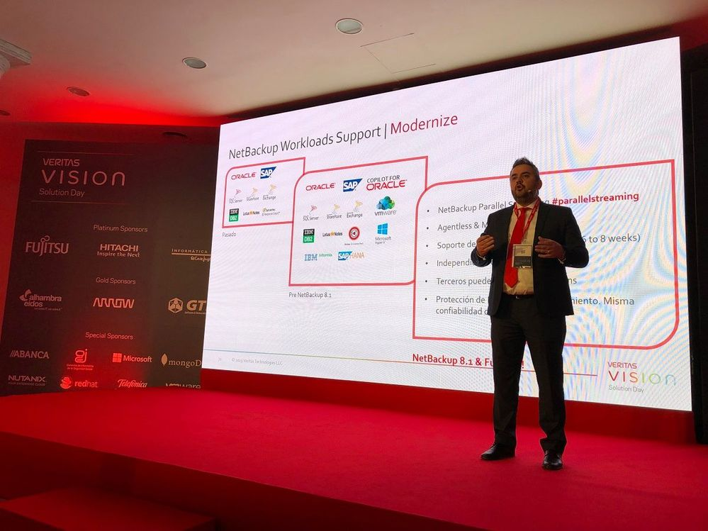 New generation data protection: new challenges was presented by Ignacio De Pedro.