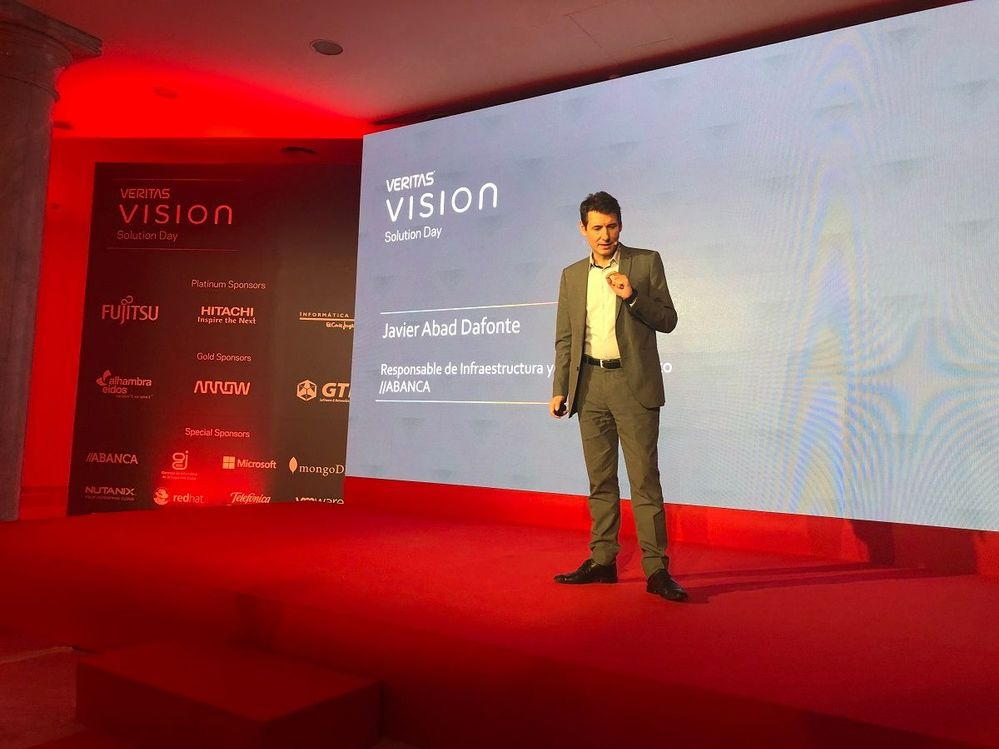 A Data Protection Case Study from Abanca was presented by Javier Abad Dafonte .