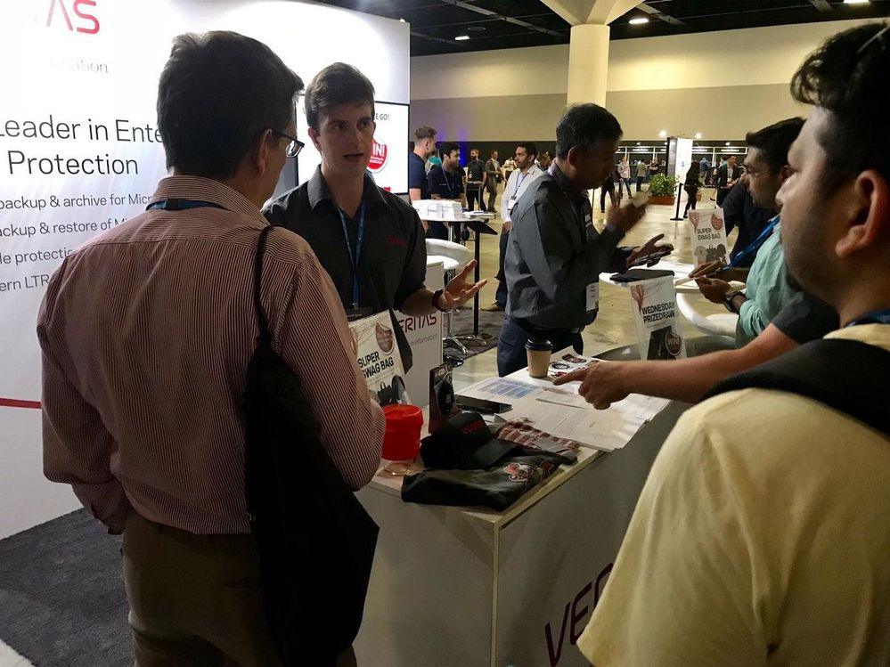 Plenty of advice was provided to visitors on the best approach to tackling enterprise data management challenges.