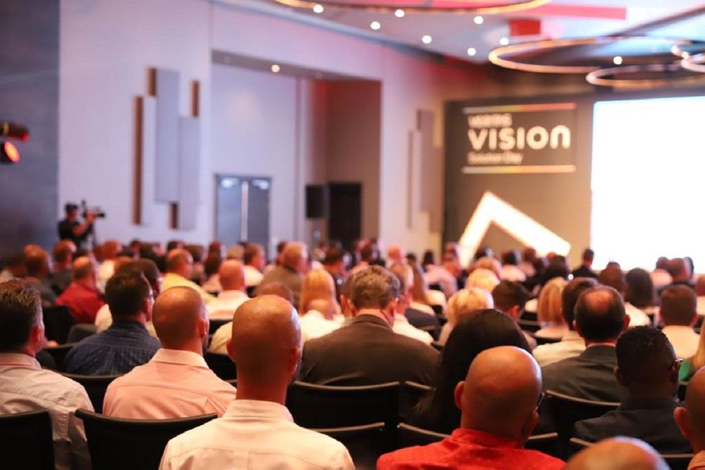 A packed house at VSD Johannesburg.