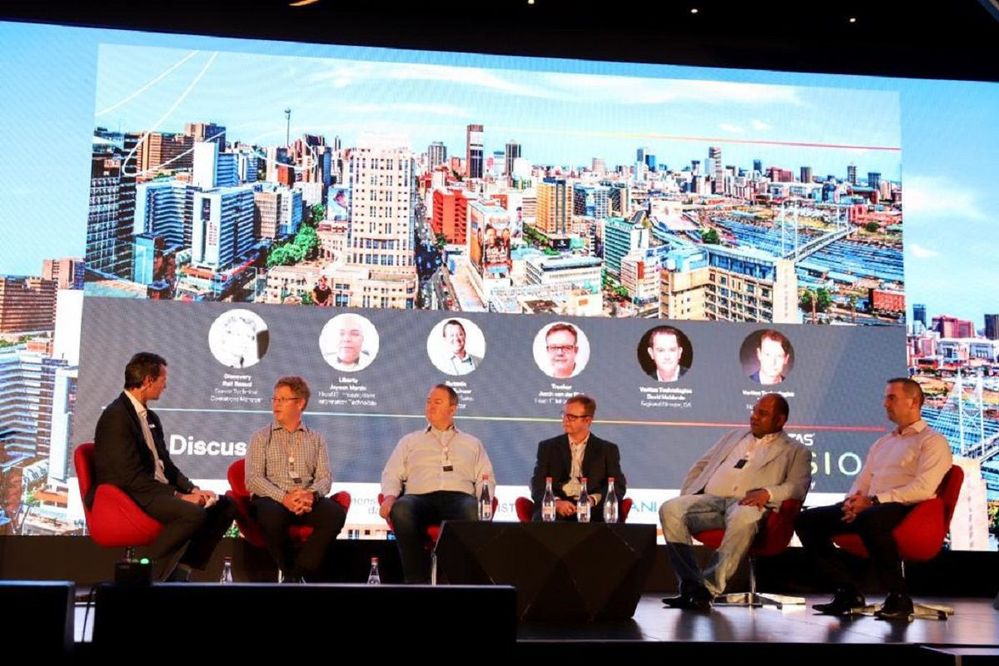 Great customer and partner panel session.