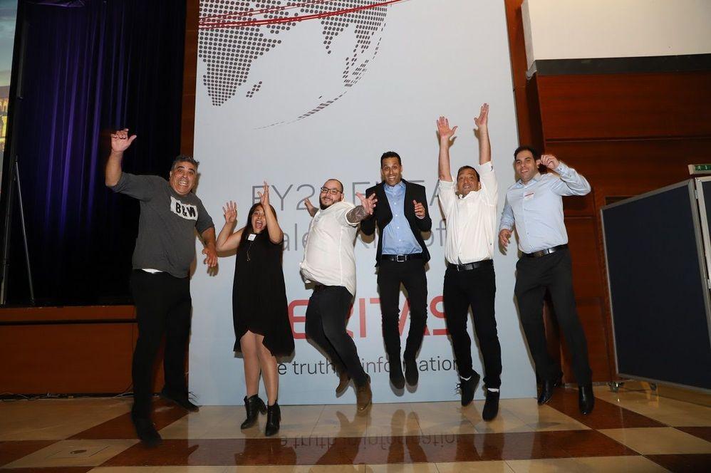 #TeamVtas Israel flying high!