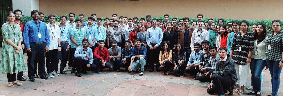 #TeamVtas 60 new interns @ Veritas campus in Pune