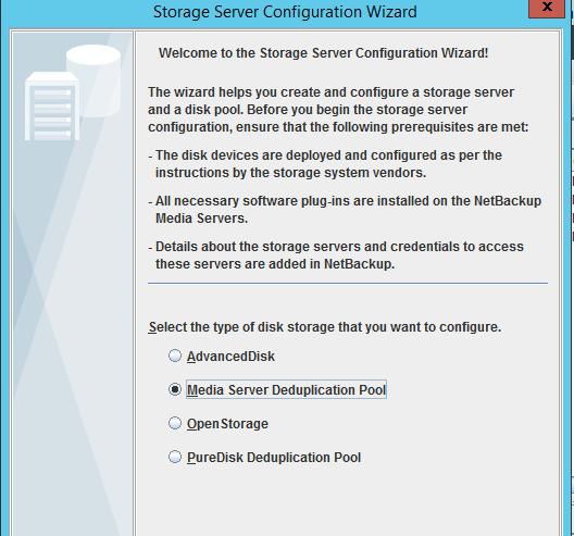 sc 1 st  VOX - Veritas & Storage unit for MSDP creation problem - VOX
