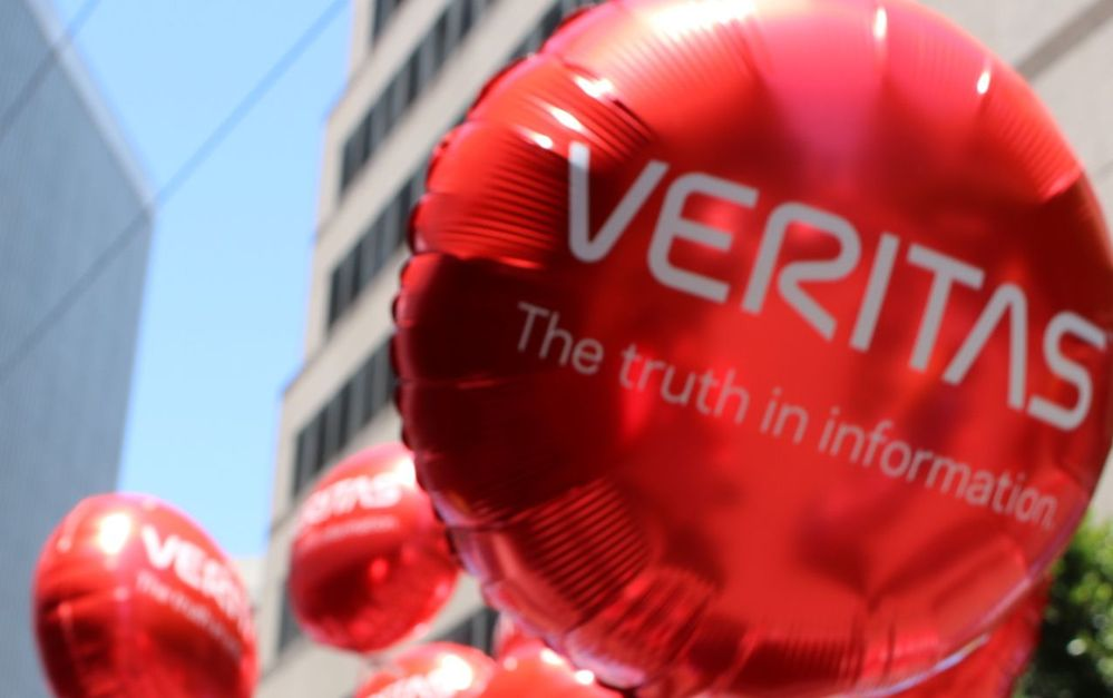Veritas balloons peppered our displays for the San Francisco Pride Parade, and were carried and distributed to the crowd by members of #TeamVtas.