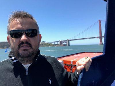 Ignacio De Pedro sightseeing in San Francisco