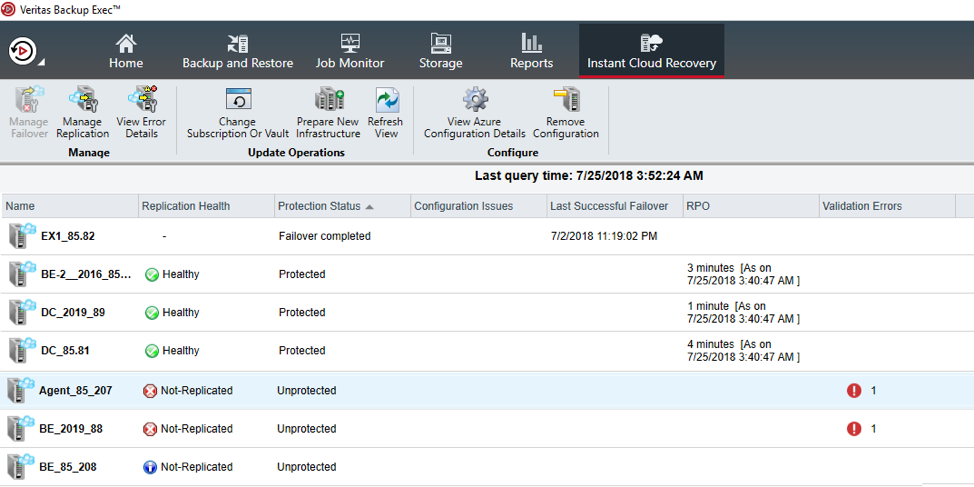 introducing instant cloud recovery in veritas backup exec
