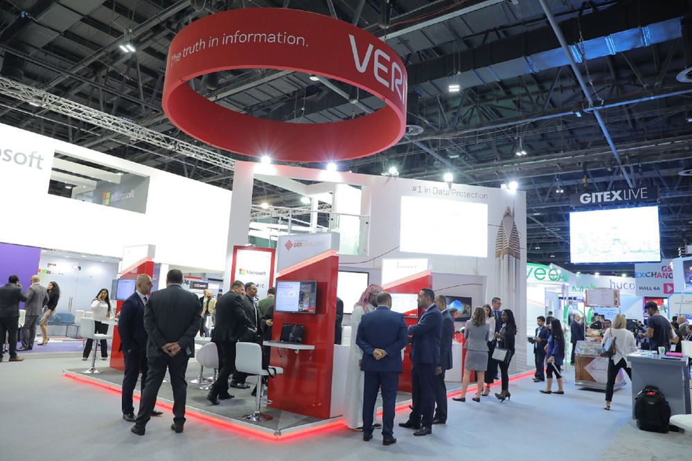 Our biggest presence at GITEX Technology Week with a two storey stand.