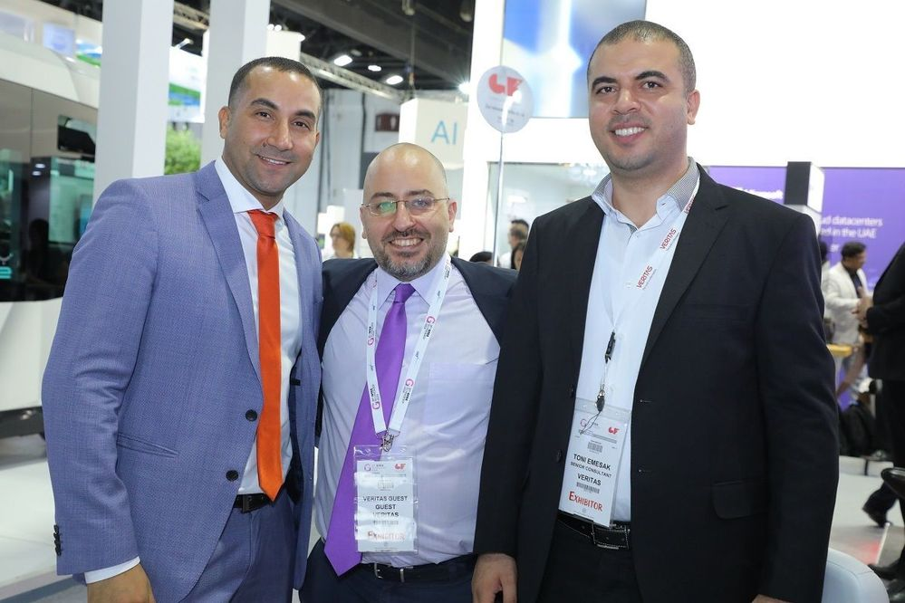 Happy! It is great to see people having a positive experience with our team at GITEX.