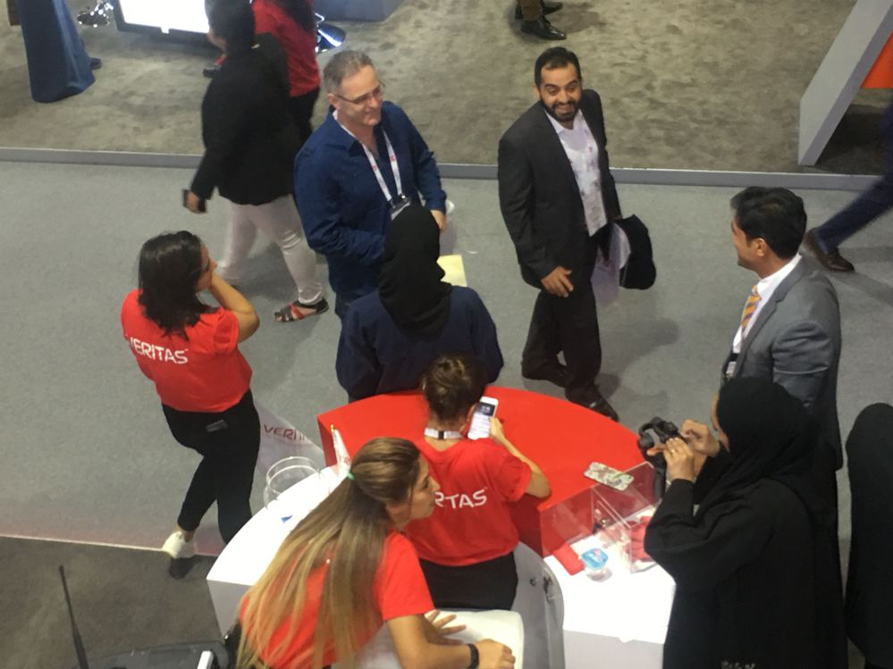 Meeting new and old friends at GITEX!