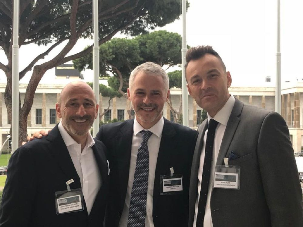 Vision Solution Day Rome was a great event to network and connect with colleagues, friends and peers.