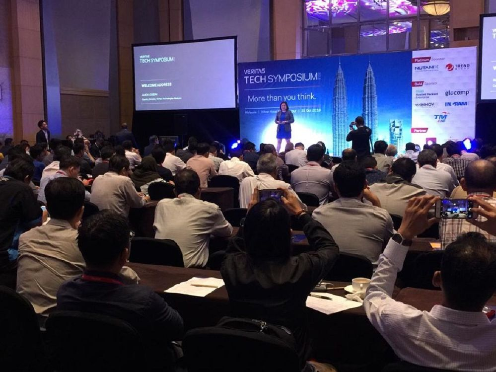 A packed room for VTS Kuala Lumpur. The event was opened by Alicia Joseph, Country Director Malaysia