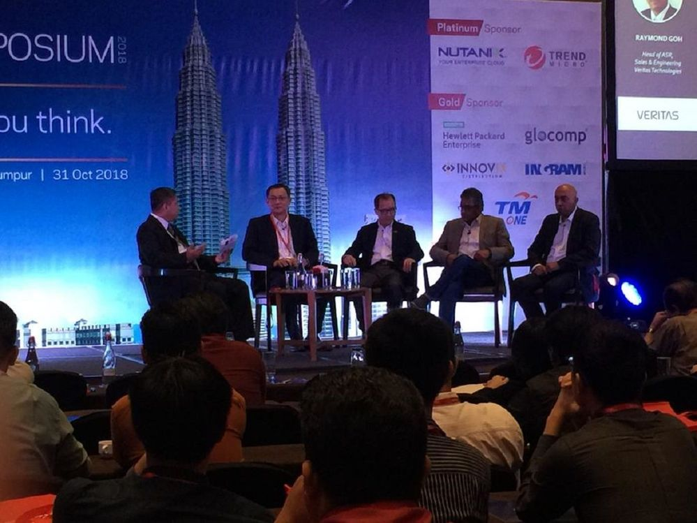 Great panel session! Thank you to our customers who attended and our partners and sponsors for supporting Veritas Tech Symposium Kuala Lumpur! See you next year!