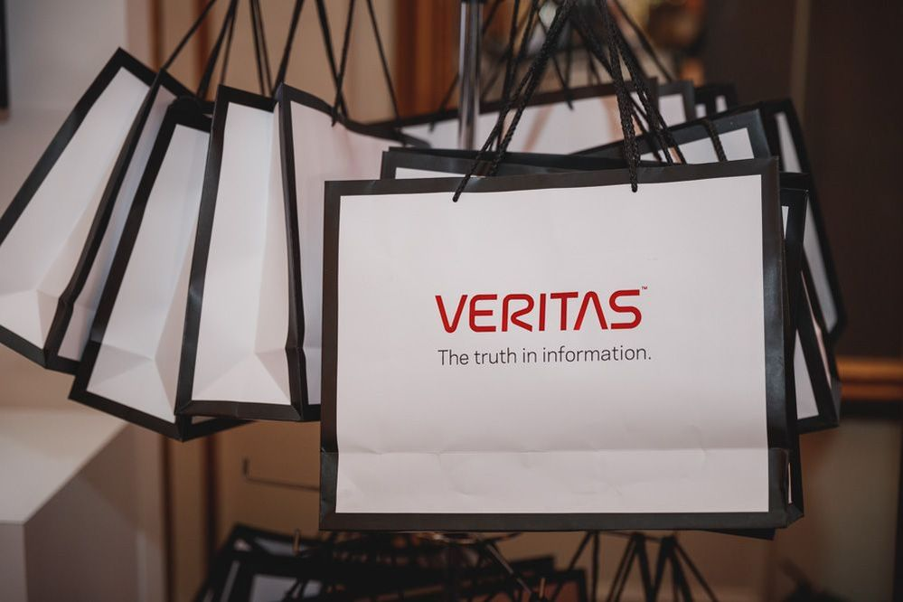 The goodie bags for each VSD London attendee.