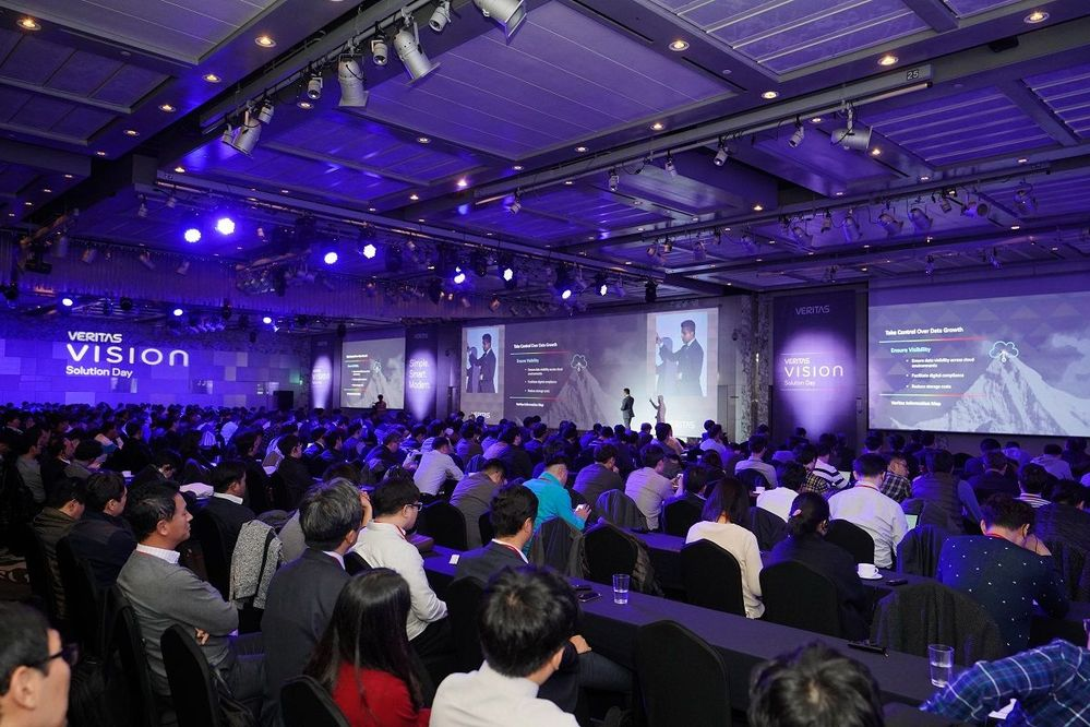 There were over 550 people who were in attendance at VSD Seoul and more than 200 people watching the live streaming. There is much interest in Veritas!