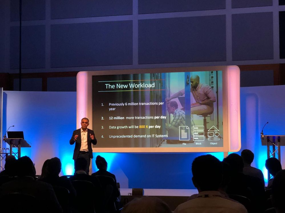 Jasmit Sagoo presented to a full house at this Gartner event.