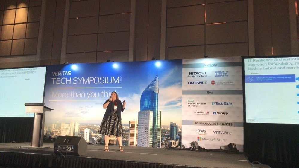 Thank you to Mijee Walker of IBM for providing a great keynote session.