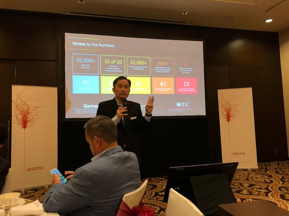 Various breakout sessions were held during the afternoon of VTS Jakarta, Indonesia.