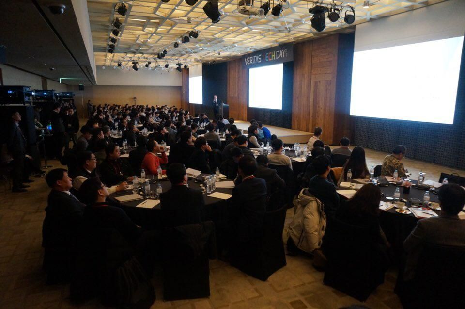Last year we held a hugely successful Vision Event in Seoul, so we decided to take the tour to another South Korean city this time; Busan with over 200 attendees.