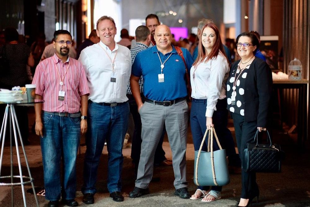 Great networking opportunities, catching up with customers, partners and making new connections.