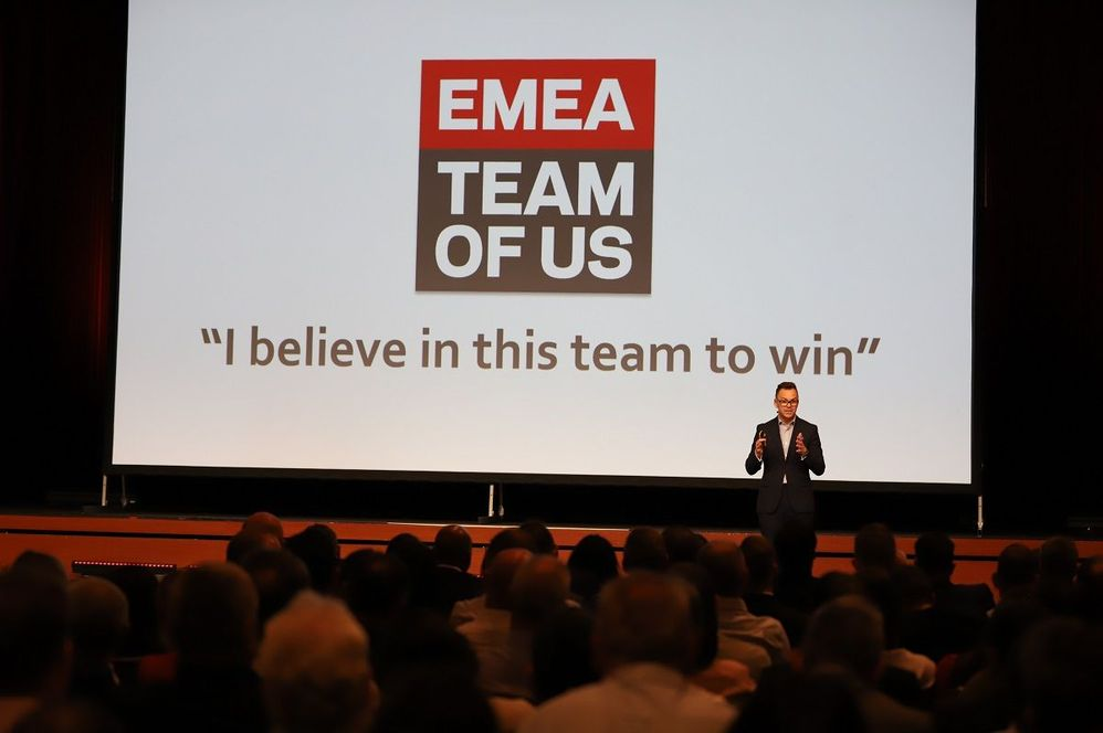 Mark Nutt, SVP EMEA opened this year's Kick-Off event held in Prague, Czech Republic.