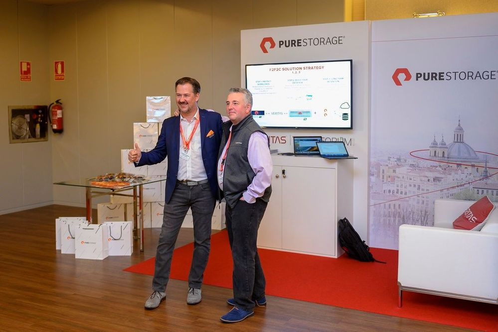 Pure Storage a key strategic partner and sponsor.