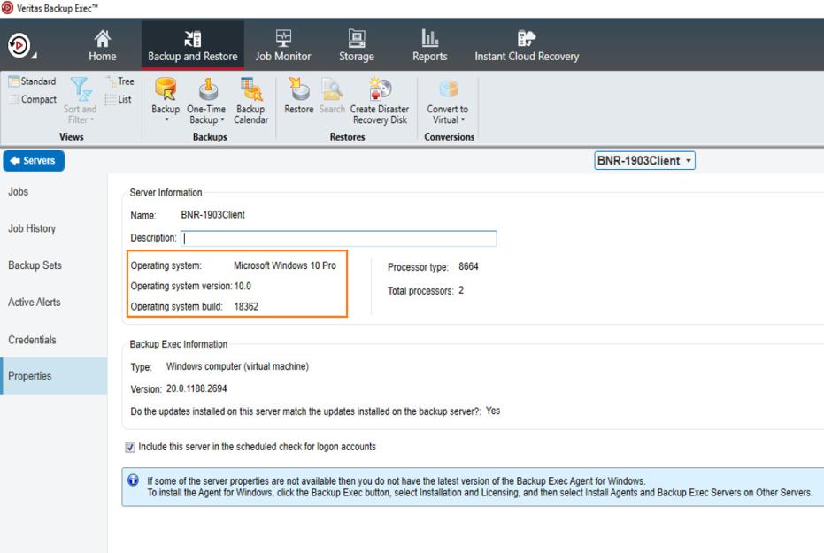 Veritas Backup Exec 20.5 on Windows 10.png